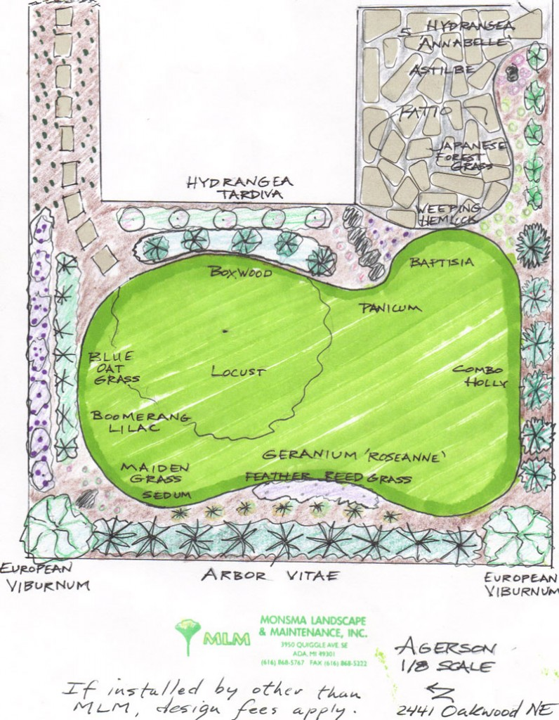 Landscape design grand rapids and ada michigan for Landscape design michigan